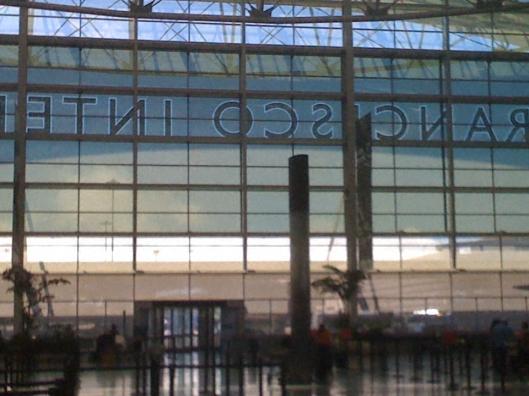 departures SFO