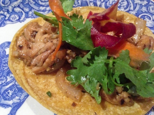 lemongrass taco