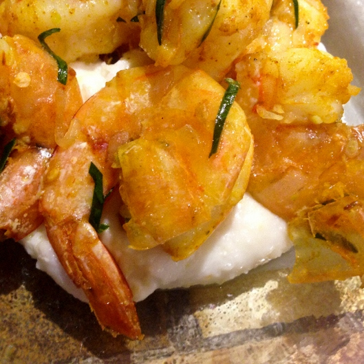 turmeric shrimp